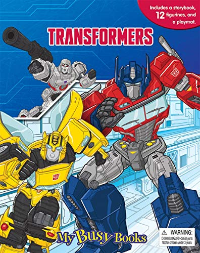 (Transformers My Busy Book)