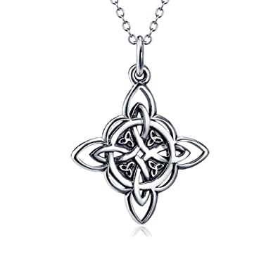 Amazon 925 Sterling Silver Celtic Triquetra Trinity Knot Good