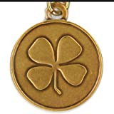 Bella Ryann Gold-Plated Four Leaf Clover Charm Bracelet