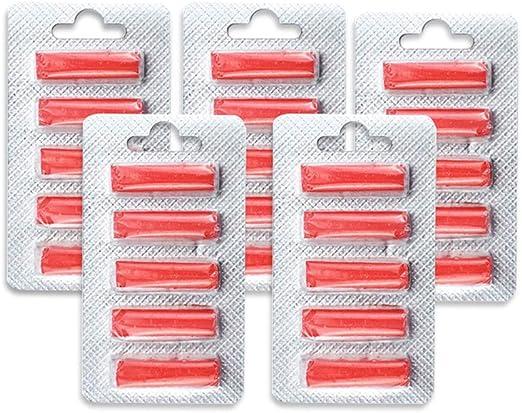 Weehey 25 Unids / 5 Sets Ambientador de Aire Perfumado Perfume Sticks Universal para Todos Aspirador de Bolsa: Amazon.es: Hogar
