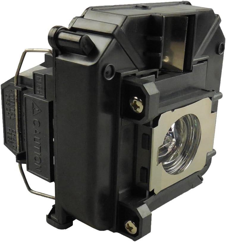 EMP-81 EMP-821 PowerLite 81p EMP-61P Compatible con Elplp30 EMP-81+ EMP-81P Supermait EP30 L/ámpara de proyector Original con Carcasa PowerLite 61p 821p Adecuada para EMP-61