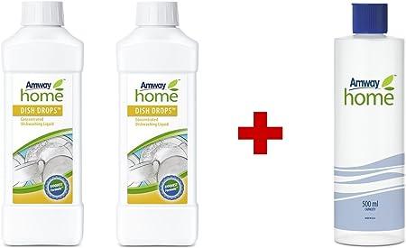 Amway - Líquido lavavajillas concentrado Dish Drops (2 botellas de ...
