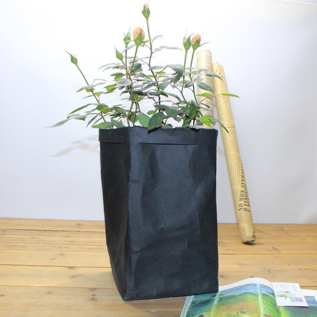 Paniers de Rangement, Rameng Multifonctionnel Lavable Pots de fleurs stockage pour Serviettes (F)