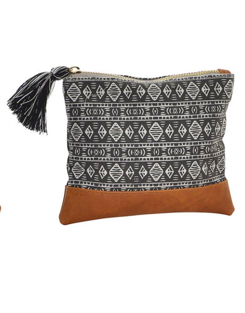 Hogar y Mas Exklusive Tasche aus natürlicher Baumwolle. Étinico/Boho. 3 Modelle zur Auswahl (18X2x15CM).-Haus und mehr- - C