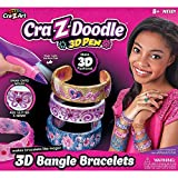 Crazy Doodle 3D Bangle Bracelets