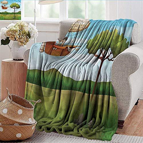 Explorer Bunk Bed Set - Xaviera Doherty Blankets Fleece Blanket Throw Explore,Fantasy Explorer Boy Super Soft and Warm,Durable Throw Blanket 60