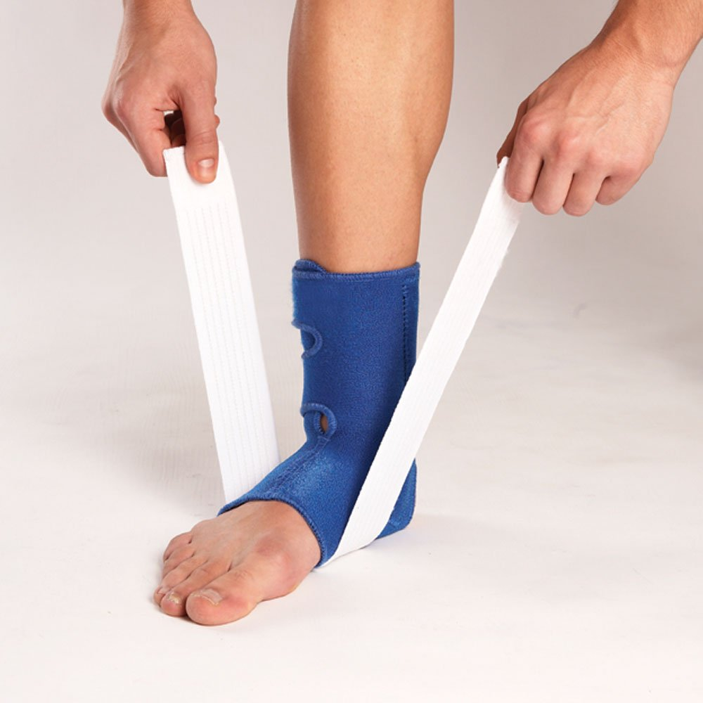 Extra Strap for Compression Ankle Support with Stay and Strap- Neoprene Ankle Brace LP SUPPORT 775 S Relief for Ankle Sprain and Painful Joints