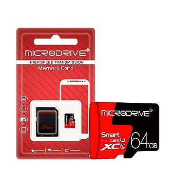 H&T Tarjetas De Memoria Micro SD, Tarjeta TF Clase 10 ...