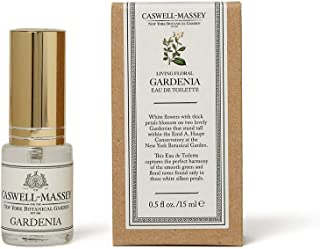 product image for Caswell-Massey New York Botanical Garden Gardenia Eau De Toilette Perfume Travel Spray – Floral Fragrance for Women – 0.5 Ounces