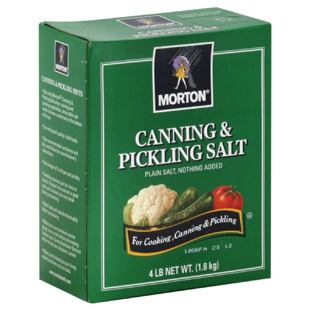 Morton Canning & Pickling Salt, 4-pounds (Pack of9)