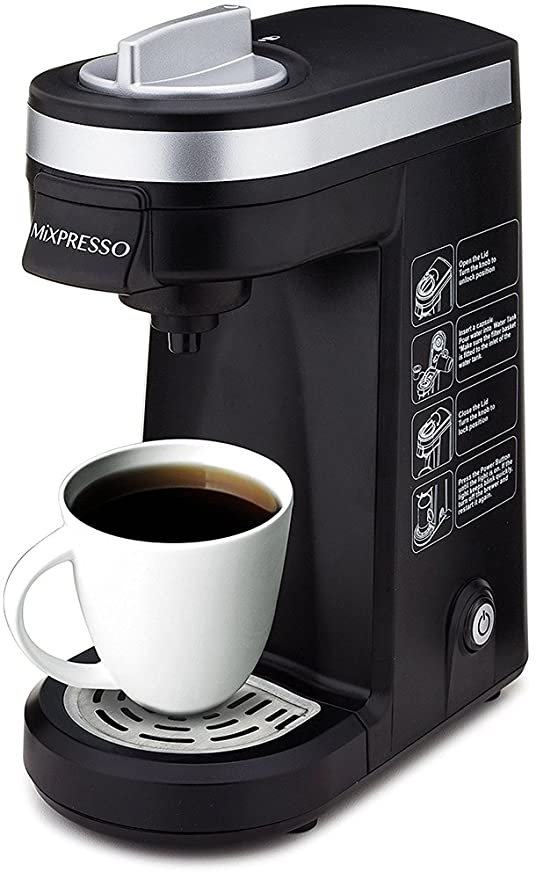 Amazoncom Mixpresso Original Design Single Serve One Cup Coffee