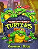 Teenage Mutant Ninja Turtles Coloring Book: Coloring Book for Kids and Adults, Activity Book, Great Starter Book for Children (Coloring Book for Adults Relaxation and for Kids Ages 4-12)