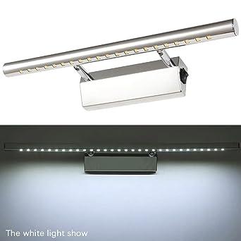 Kompassswc LED Spiegelleuchte mit Schalter 7W 490Lumen Wasserdicht ...