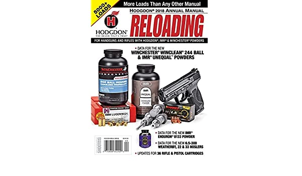 Hodgdon Powder Annual Reloading Manual, Gunsmithing Tools