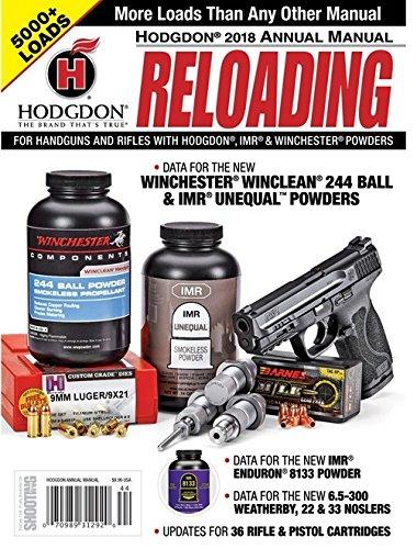 Hodgdon Powder Annual Reloading Manual