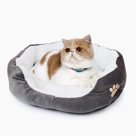 Beito Lavable del Perro casero Cesta Caliente de Cama, Cojines para Mascotas en Perros cojín