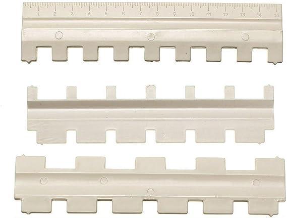 Amazon.com: 3 Pcs/Set Needle Pusher 1/1, 2/1 1/2, 1/3 3/1 Mayitr For Brother 9mm Gauge Knitting Machine Tools Accessories DIY Ideas