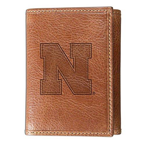University of Nebraska Westbridge Leather Wallet (Trifold)