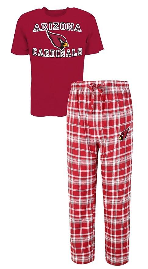 f919a8e34acf Arizona Cardinals NFL  quot Tiebreaker quot  Men s T-shirt   Flannel Pajama  ...