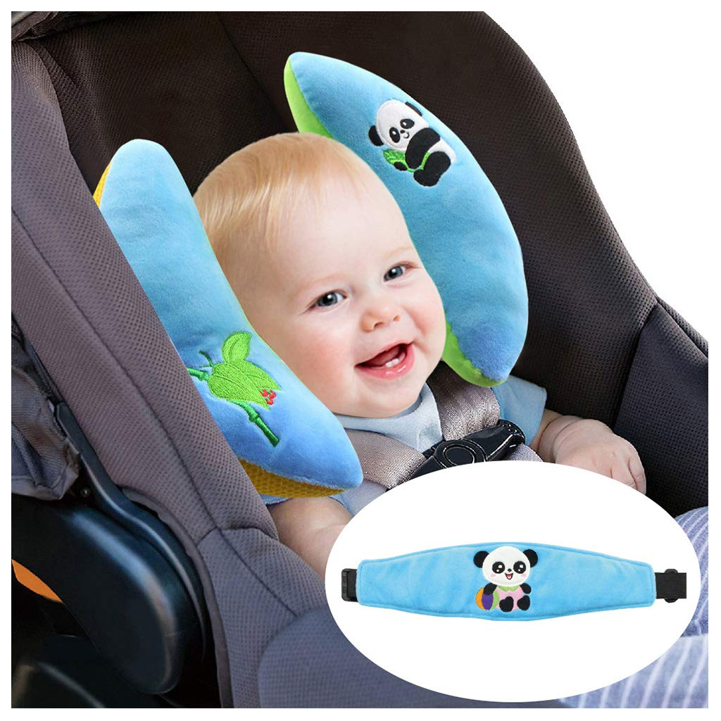 Baby Pillow Safety Head Support Sets - Baby Cushion for Car Seat Neck Protector