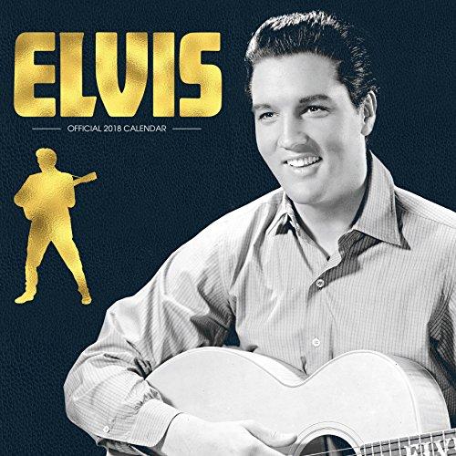Elvis (Square) Official 2018 Calendar - Square Wall Format Elvis Calendar