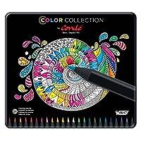 Colección de colores BIC by Conte Coloring Pencil, colores surtidos, 24 cuentas