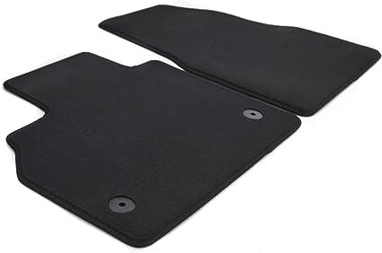Kh Teile Automatten Set Velour Fussmatten Original Qualität 2 Teilig Schwarz Auto