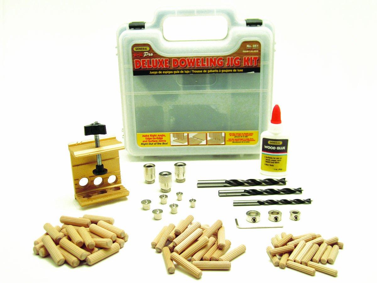 General Tools 851 General Tools E-Z Pro Deluxe Dowel Jig Kit