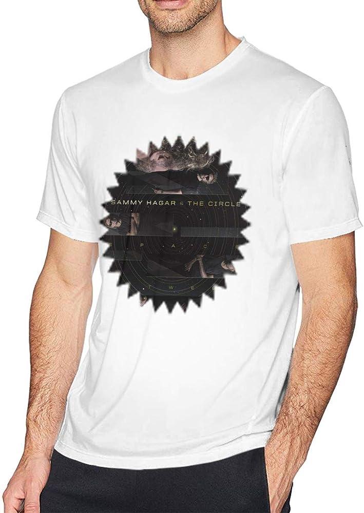 Maxdot Men S S With Sammy Hagar The Circle Space Between Design Shirts