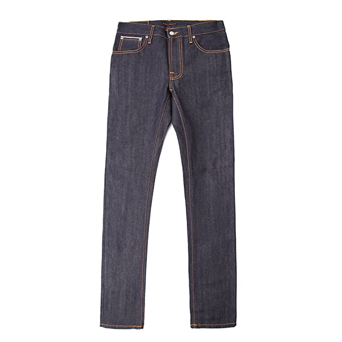 Nudie Jeans Men s Thin Finn Dry Selvage Jean 111489 Selvage SZ 34 34   Amazon.ca  Clothing   Accessories 570cfd7e8f26