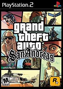 Grand Theft Auto: San Andreas - PlayStation 2     - Amazon com