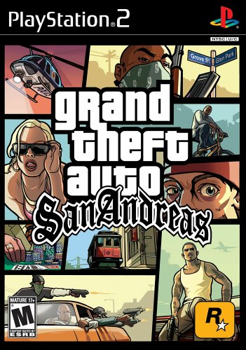 grand theft auto san andreas ps2 - 1