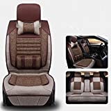 CAR Four seasons Car Seat Cover Cushion Automotive Interior Protection Of The Original Car Seat , brown