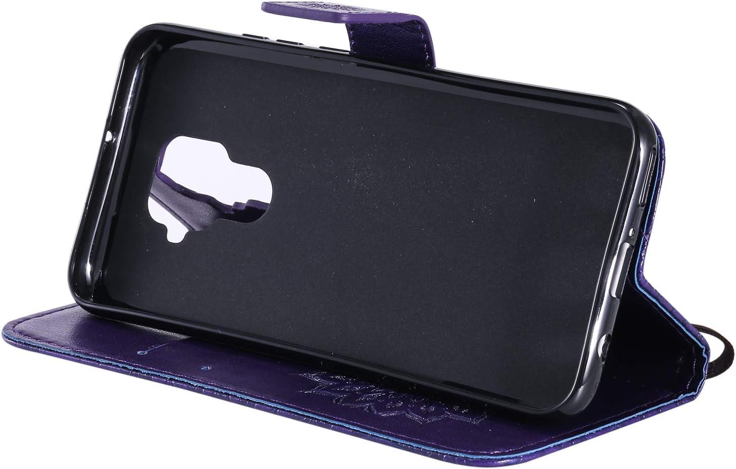 NEXCURIO Wallet Case for Huawei Mate 30 Lite//nova 5i Pro with Card Holder Side Pocket Kickstand NEKTU020540 Hot Pink Shockproof Leather Flip Cover Case for Huawei Mate30 Lite