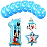 Amazon.com: Hongkai Mickey Mouse 1er cumpleaños niño ...