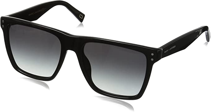 Marc Jacobs lunettes de soleil carrées en noir MARC 119S 807 54