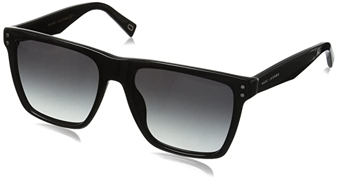 Womens Marc 78/S HD Sunglasses, Black, 57 Marc Jacobs