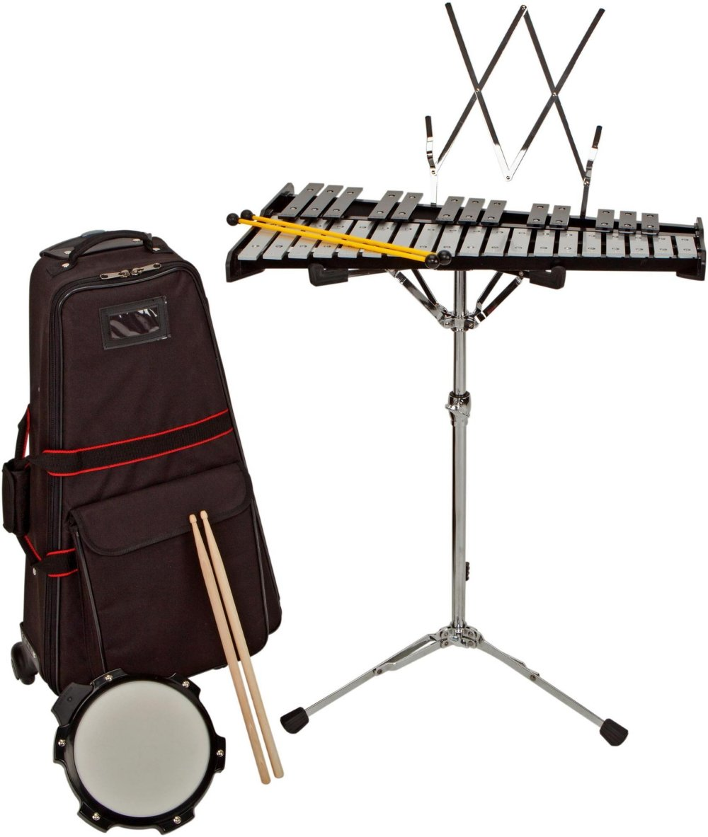 Sound Percussion Labs Bell Kit w/ Rolling Cart 2-1/2 OCTAVE by Sound Percussion Labs