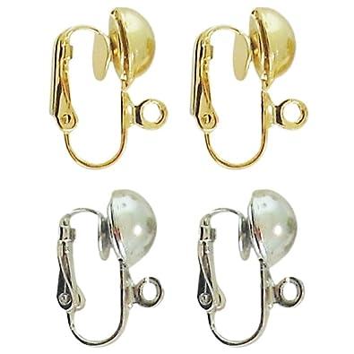 d9f249e4d Amazon.com: Dangle Clip Converters, 2 Pairs, 1 Silvertone, 1 ...