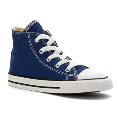 719f629b23f0 Converse Kids Unisex Chuck Taylor All Star Hi (Infant Toddler) Roadtrip Blue  6