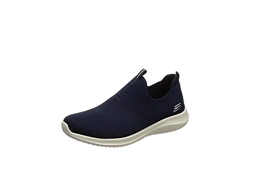 Skechers Ultra Flex-First Take, Zapatillas Sin Cordones Para Mujer, Azul (Navy), 35.5 EU