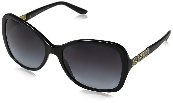 Versace 0Ve4271B Gafas de sol, Black, 58 para Mujer: Amazon ...