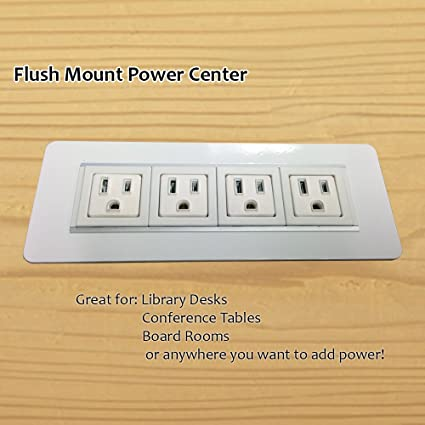 Amazoncom AXIL Z Flush Mount PowerData Center Power Outlets - Conference table power supply