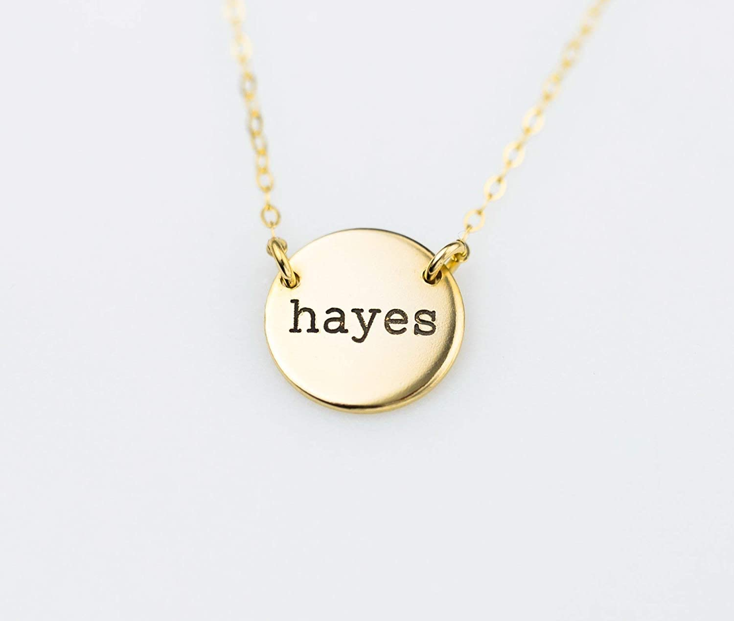 Double Sided Pendant Necklace