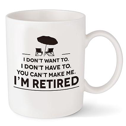 Amazon Retirement Gifts For Men Women Funny Coffee Mug