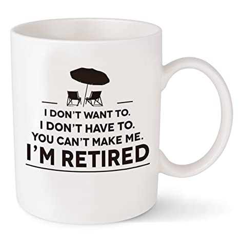 Retirement Gifts For Men Women Funny Coffee Mug For Retired Friends Coworkers Best Cup Christmas Birthday Gift For Dad Mom 11oz