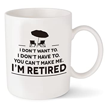 Amazon Com Retirement Gifts For Men Women Funny Coffee Mug For