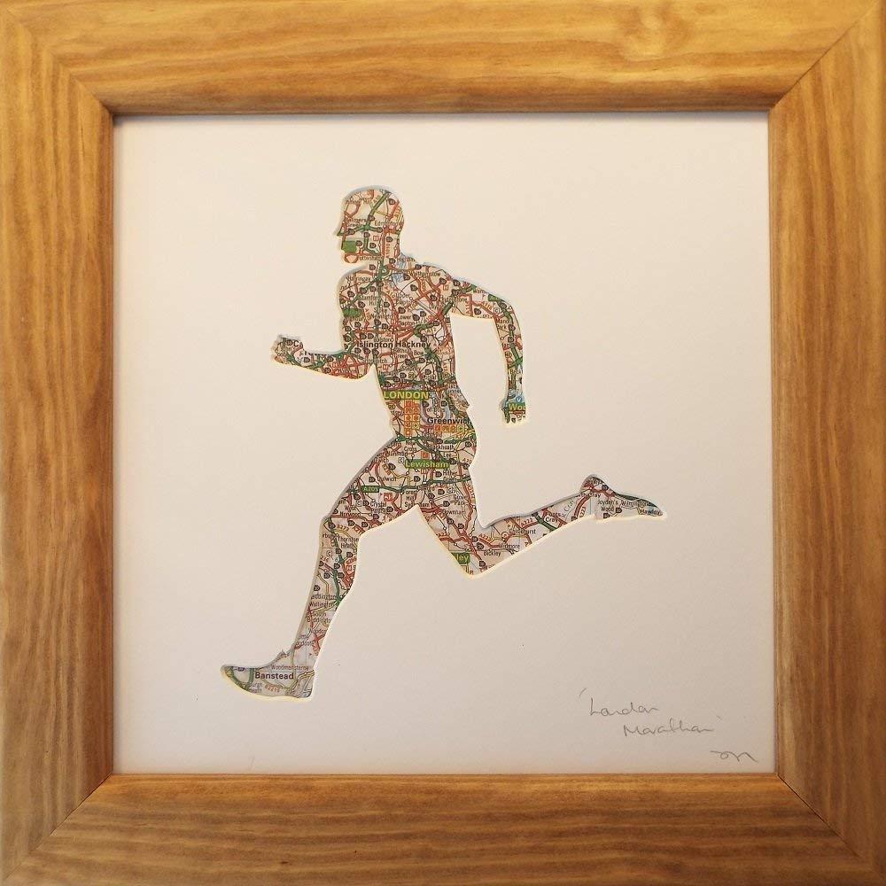 London Marathon Achievement Gift For Men