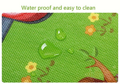 Baby Playing Mat Ocean Animal Crawling Floor Pad with Carring Bag [US Stock] (2) by Rateim (Image #6)