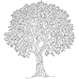 KaiserColour Coloring Poster 27''X19''-Tree